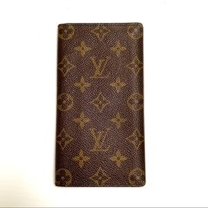 LOUIS VUITTON Long Wallet/Checkbook